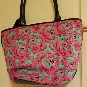 Betsey Johnson canvas tote